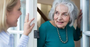 Should lockdown be eased for the healthy elderly when restrictions are relaxed?